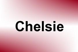 Chelsie name image
