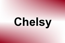 Chelsy name image
