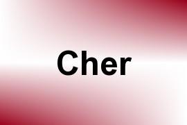 Cher name image