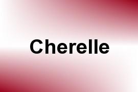 Cherelle name image