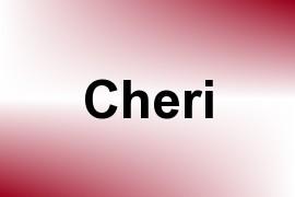 Cheri name image