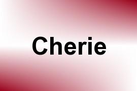 Cherie name image