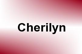 Cherilyn name image