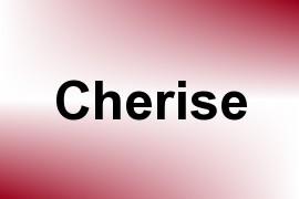 Cherise name image