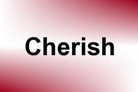 Cherish name image