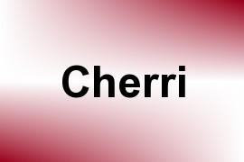 Cherri name image