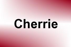 Cherrie name image