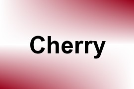 Cherry name image