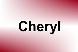 Cheryl name image