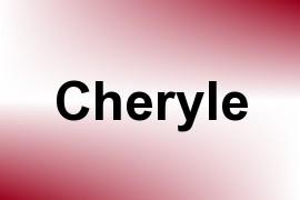 Cheryle name image