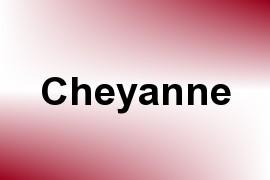 Cheyanne name image