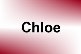 Chloe name image