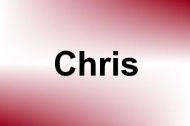 Chris name image