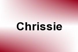 Chrissie name image