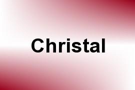Christal name image