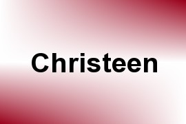 Christeen name image