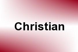 Christian name image