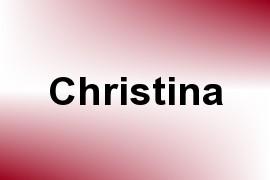 Christina name image