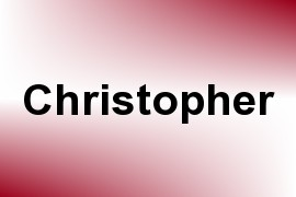 Christopher name image