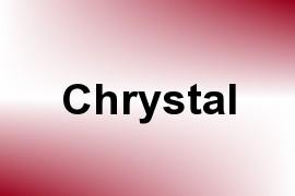 Chrystal name image