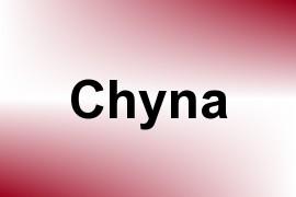 Chyna name image