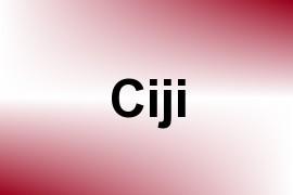 Ciji name image