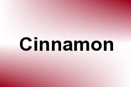 Cinnamon name image