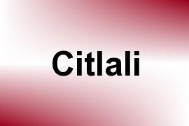 Citlali name image