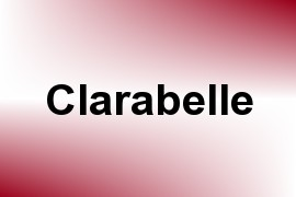 Clarabelle name image