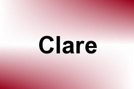Clare name image