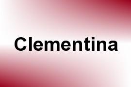 Clementina name image