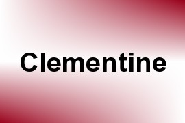 Clementine name image