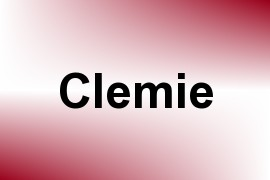 Clemie name image