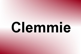 Clemmie name image