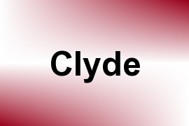 Clyde name image