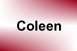 Coleen name image