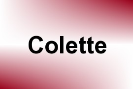 Colette name image
