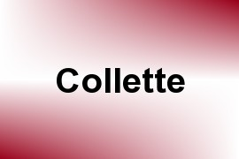 Collette name image