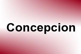 Concepcion name image