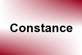 Constance name image