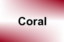Coral name image