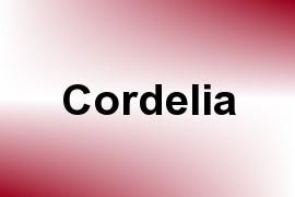 Cordelia name image