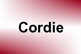 Cordie name image
