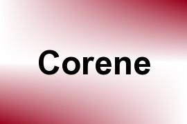 Corene name image