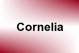 Cornelia name image