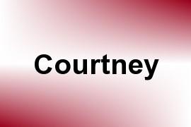 Courtney name image