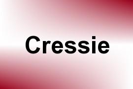 Cressie name image