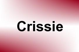 Crissie name image