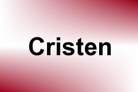 Cristen name image