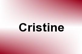 Cristine name image
